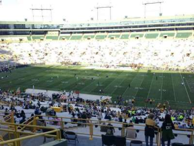 Lambeau Field, section: 332, row: 9, seat: 15