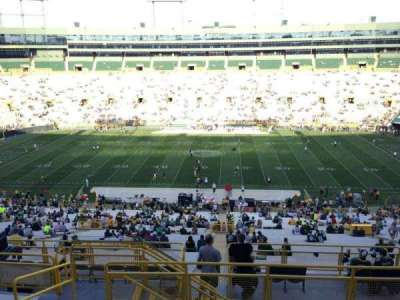 Lambeau Field, section: 328, row: 8, seat: 4