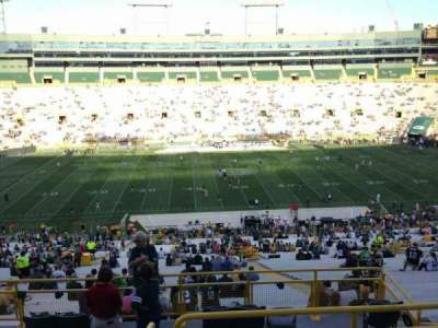 Lambeau Field, section: 326, row: 5, seat: 12