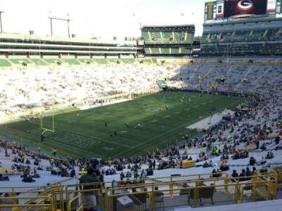 Lambeau Field, section: 310, row: 9, seat: 2