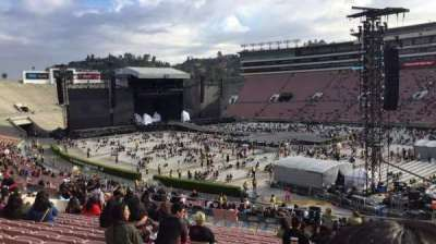 Rose Bowl, section: 8-L, row: 47, seat: 16