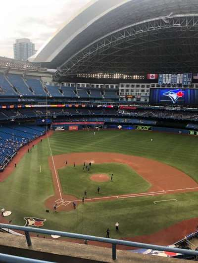 Rogers Centre section 522R
