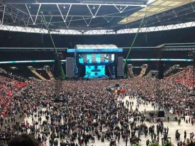 Wembley Stadium section 216