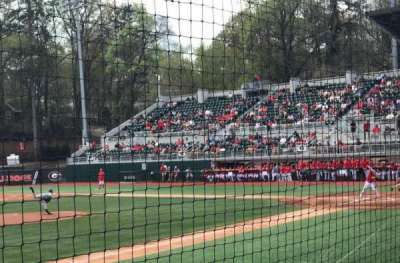 Foley Field, section: 110, row: B, seat: 10