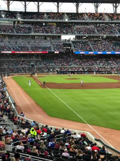 SunTrust Park, section: 108, row: 10, seat: 8