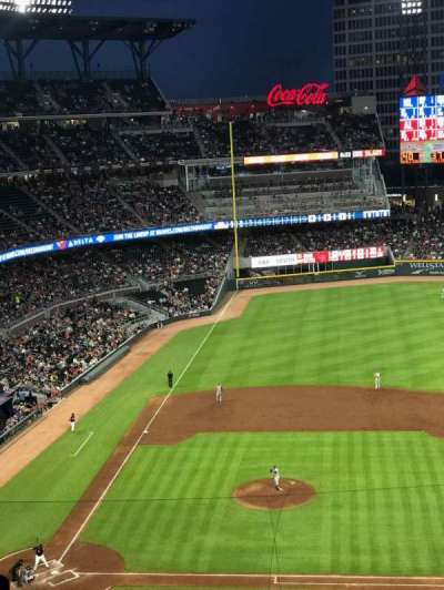 SunTrust Park, section: 320, row: 9, seat: 7