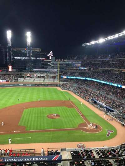 SunTrust Park, section: 331, row: 3, seat: 4