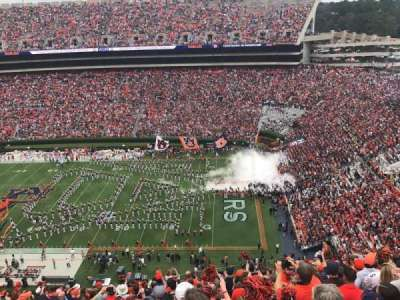Jordan-Hare Stadium, section: 60, row: 27, seat: 17