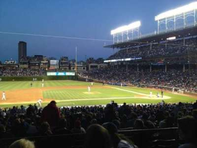 Wrigley Field section 213