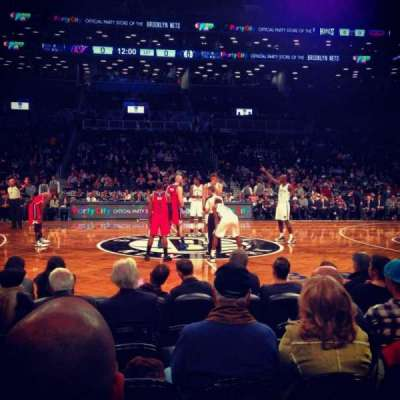Barclays Center, section: 24, row: 2, seat: 13