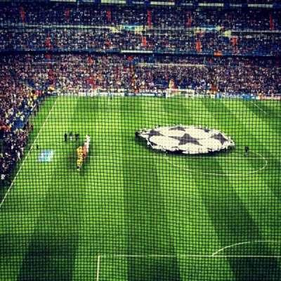 Santiago Bernabéu Stadium, section: Away Section