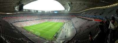 Allianz Arena, section: 345, row: 1