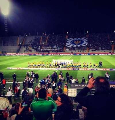 Stadio Friuli, section: Tribuna d'Onore