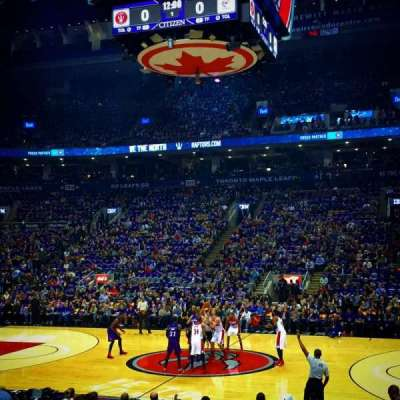 Air Canada Centre, section: 118, row: 11, seat: 24