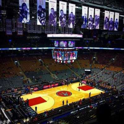 Air Canada Centre, section: 311, row: 8, seat: 18