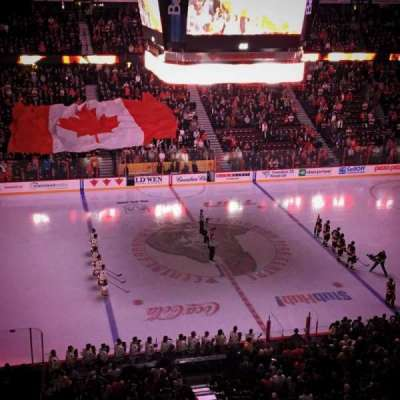 Canadian Tire Centre, section: 309, row: B, seat: 7