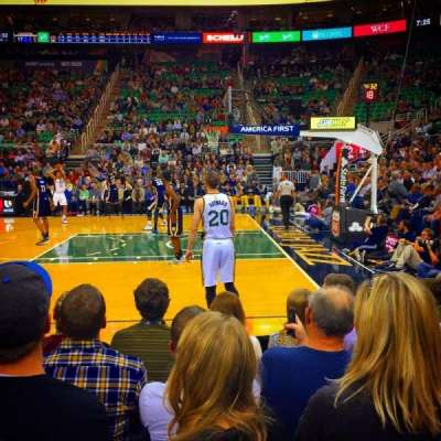 Vivint Smart Home Arena, section: 17, row: 3, seat: 7