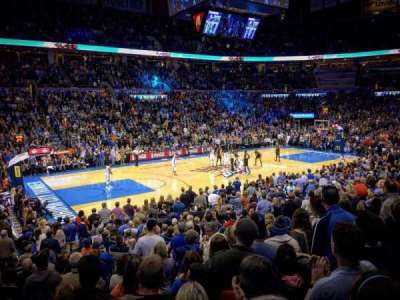 Chesapeake Energy Arena section 107