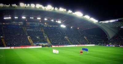 Stadio Friuli, section: K2, row: 15, seat: 22