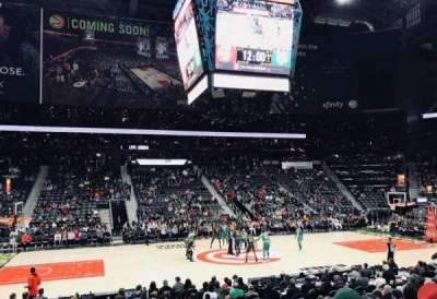 Philips Arena, section: 116, row: M, seat: 7