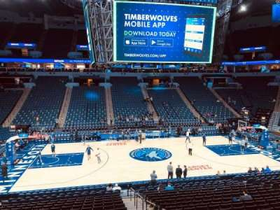 Target Center section 112