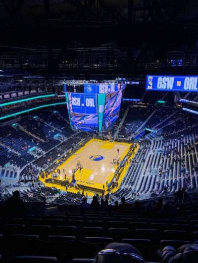 Chase Center, section: 211, row: 20, seat: 18
