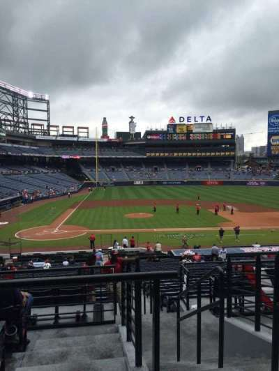 Turner Field, section: 207L, row: 5, seat: 101
