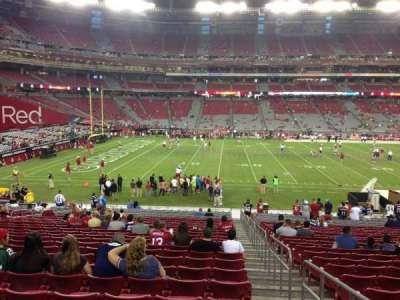University of Phoenix Stadium section 133