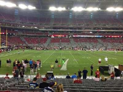 University Of Phoenix Stadium, section: 132, row: 12, seat: 13