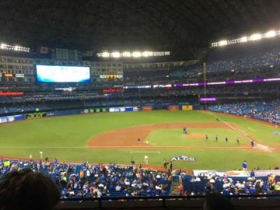 Rogers Centre, section: 229, row: 5, seat: 5