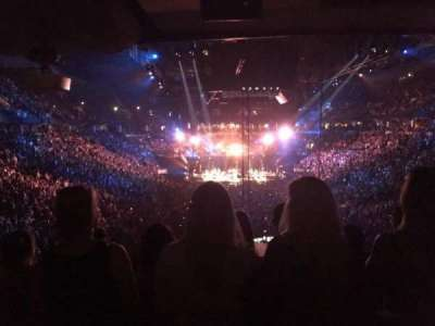 Air Canada Centre, section: AC Club, row: 1, seat: 5