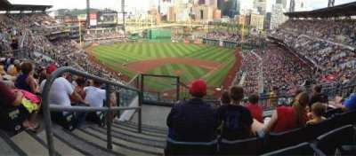 PNC Park, section: 317, row: L, seat: 20