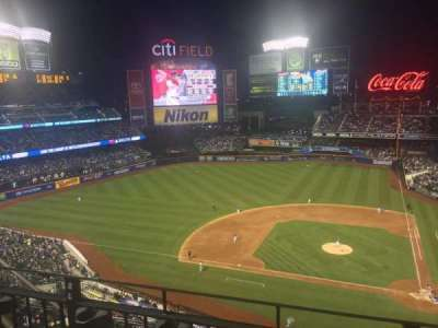 Citi Field, section: 519, row: 2, seat: 18