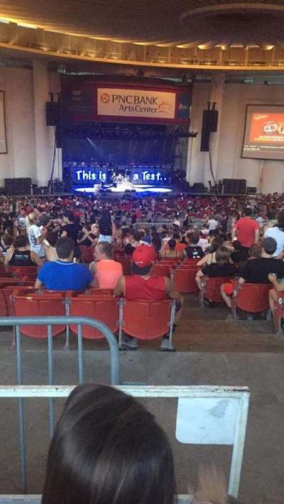 PNC Bank Arts Center, section: 404, row: K, seat: 105