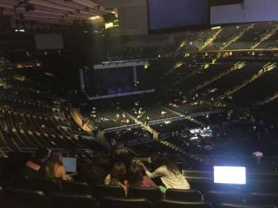Madison Square Garden, section: 202, row: 5, seat: 9