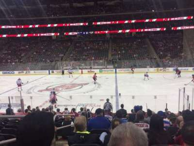 Prudential Center, section: 9, row: 13, seat: 16