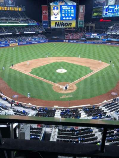 Citi Field, section: 415, row: 1, seat: 8