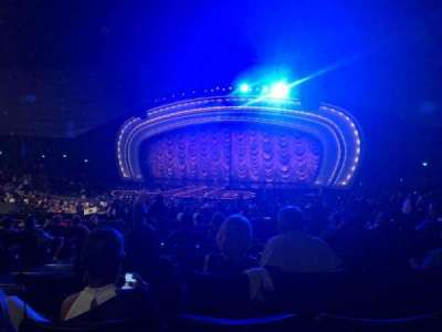 Zappos Theater, section: 203, row: M, seat: 14