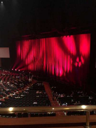 The Colosseum At Caesars Palace, section: Mezz 1, row: 1, seat: 116