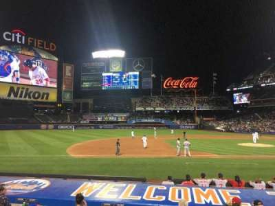 Citi Field, section: 122, row: 8, seat: 14