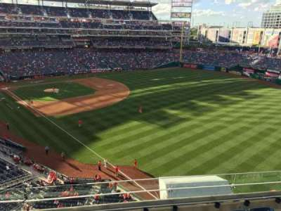 Nationals Park, section: 230, row: F, seat: 16