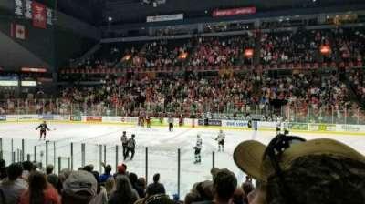 Van Andel Arena, section: 107, row: L, seat: 20