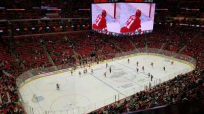 Little Caesars Arena, section: 215, row: 1, seat: 2