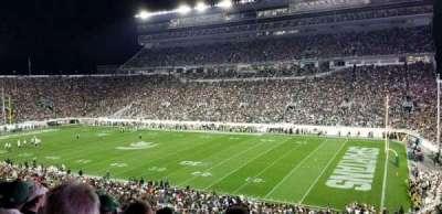 Spartan Stadium, section: 5, row: 54, seat: 46