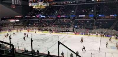 Van Andel Arena, section: 206, row: D, seat: 20