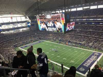 AT&T Stadium, section: 406, row: 16, seat: 19