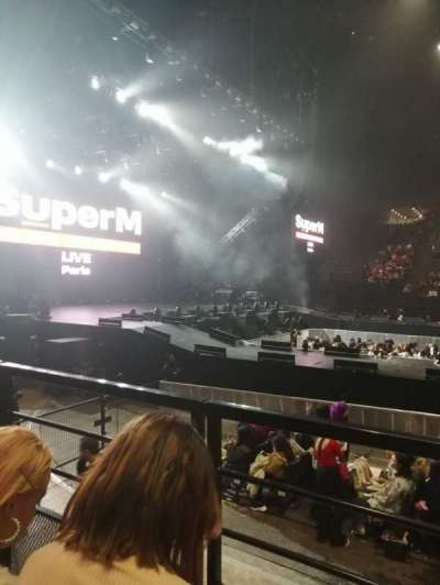 AccorHotels Arena, section: O, row: 23, seat: 4