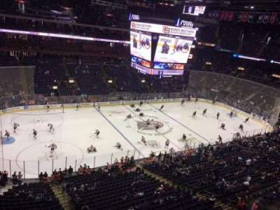 Nationwide Arena, section: 205, row: B, seat: 5