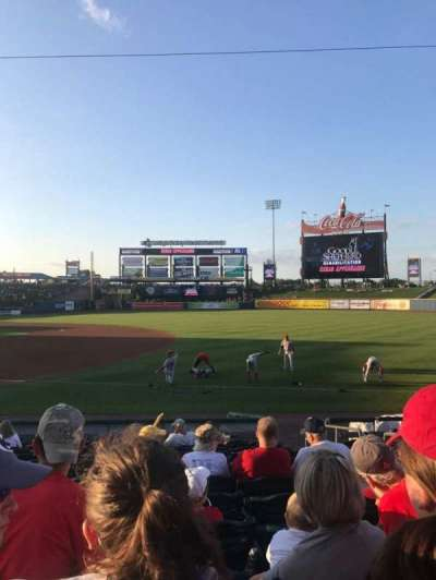 Coca-Cola Park, section: 105, row: M, seat: 18
