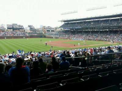 Wrigley Field section 207